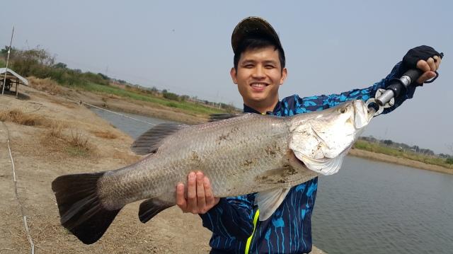 mancing kakap putih di boonma thailand